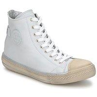 Scarpe Unisex bambino Sneakers alte Hip LOUGO Crema