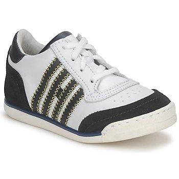 Scarpe Unisex bambino Sneakers basse Hip ARCHIK Bianco / Blu
