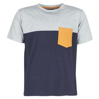 Abbigliamento Uomo T-shirt maniche corte Casual Attitude JERMENE Grigio / Marine