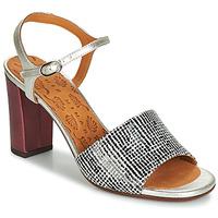 Schuhe Damen Sandalen / Sandaletten Chie Mihara PARIGI Silbrig