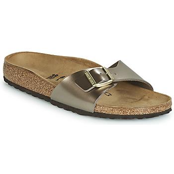 Schuhe Damen Pantoffel Birkenstock MADRID Bronze