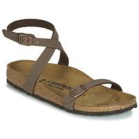 Schuhe Damen Sandalen / Sandaletten Birkenstock DALOA Braun,