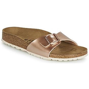 Schuhe Damen Pantoffel Birkenstock MADRID Rose / Gold