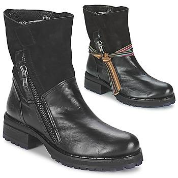 Schuhe Damen Boots Felmini CLARA Schwarz