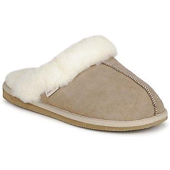 Schuhe Damen Hausschuhe Shepherd JESSICA Beige