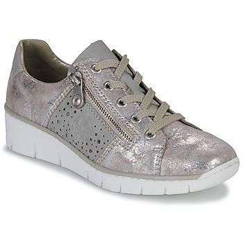 Schuhe Damen Sneaker Low Rieker RIKTUS Golden