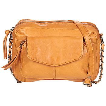 Taschen Damen Umhängetaschen Pieces PCNAINA Cognac