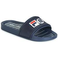 Schuhe Damen Pantoletten Melissa SLIDE + FILA Marine