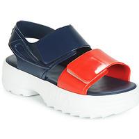 Schuhe Damen Sandalen / Sandaletten Melissa SANDAL + FILA Marine / Rot / Weiss