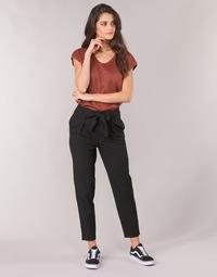 Kleidung Damen 5-Pocket-Hosen Only ONLNICOLE Schwarz