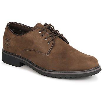 Schuhe Herren Derby-Schuhe Timberland EK STORMBUCK PLAIN TOE OXFORD Braun,