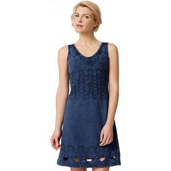Vêtements Femme Robes courtes La Cotonniere ROBE DAISY Bleu