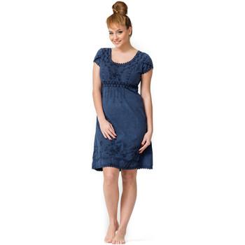 Vêtements Femme Robes courtes La Cotonniere ROBE COURTE PATSY Bleu