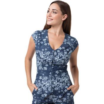 Vêtements Femme Tops / Blouses La Cotonniere GILET PANDORA Multicolore