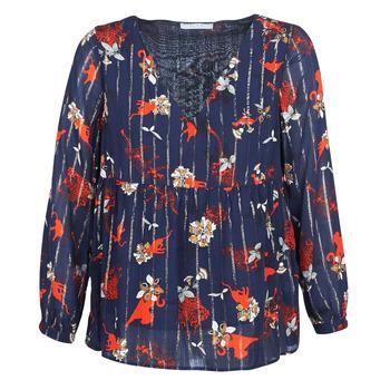 Kleidung Damen Tops / Blusen Vila VIAMOLLON Marineblau