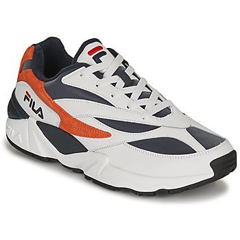 Scarpe Uomo Sneakers basse Fila V94M R LOW Bianco / Arancio