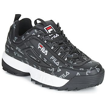 Schuhe Damen Sneaker Low Fila DISRUPTOR LOGO LOW WMN Schwarz