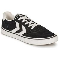 Chaussures Baskets basses Hummel STADIL 3.0 SUEDE Noir / Blanc
