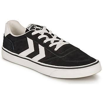 Scarpe Sneakers basse Hummel STADIL 3.0 SUEDE Nero / Bianco