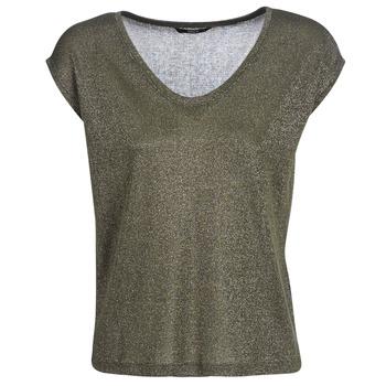 Vêtements Femme T-shirts manches courtes Only ONLSILVERY Kaki