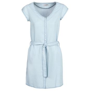Kleidung Damen Kurze Kleider Yurban kOULIENNE Blau / Hell