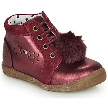Chaussures Fille Boots Catimini CALISTA Bordeaux