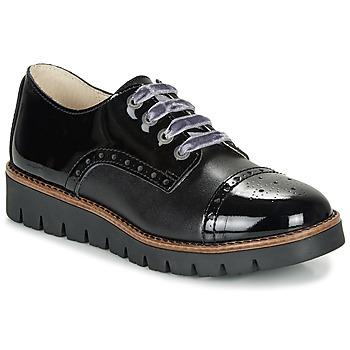 Schuhe Mädchen Derby-Schuhe Catimini COXINELA Schwarz