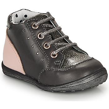 Schuhe Mädchen Boots Catimini CLELIA Grau