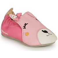 Schuhe Mädchen Hausschuhe Catimini CAPUCINE Rose
