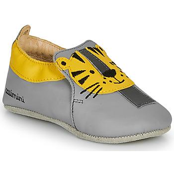 Schuhe Jungen Hausschuhe Catimini CALINOU Grau / Gelb