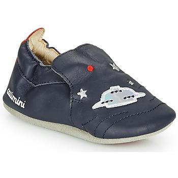 Schuhe Jungen Hausschuhe Catimini CASPARO Marineblau
