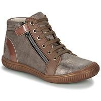 Chaussures Fille Baskets montantes GBB RACHIDA Marron