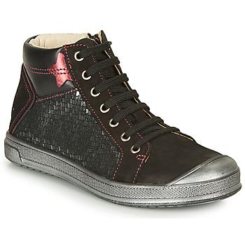 Schuhe Mädchen Sneaker High GBB ORENGETTE Silbrig