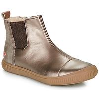 Schuhe Mädchen Boots GBB ONAO Bronze / Maulwurf