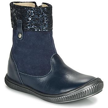 Schuhe Mädchen Boots GBB ORANTO Marineblau