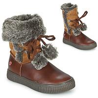 Schuhe Mädchen Boots GBB NOUSTIK Braun,