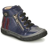 Scarpe Bambino Sneakers alte GBB OMAHO Blu