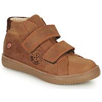 Schuhe Jungen Sneaker High GBB NAZAIRE Braun