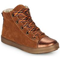 Chaussures Fille Baskets montantes GBB OUSTILLE Cognac
