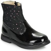 Chaussures Fille Boots GBB OSHINO Noir