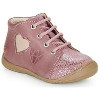 Scarpe Bambina Sneakers alte GBB OCALA Vieux / Rosa