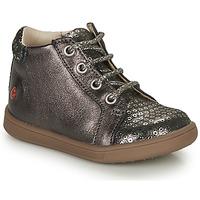 Schuhe Mädchen Sneaker High GBB FAMIA Grau / Silbrig