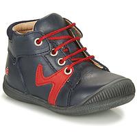 Chaussures Garçon Boots GBB OVELO Marine / Rouge