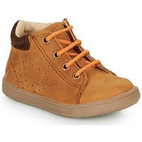 Schuhe Jungen Sneaker High GBB FOLLIO Kognac
