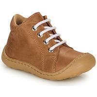 Schuhe Jungen Sneaker High GBB FREDDO Kognac
