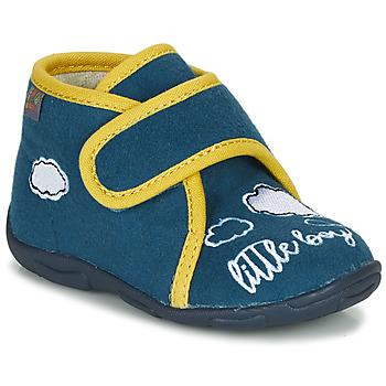 Schuhe Jungen Hausschuhe GBB OKANDI Blau / Gelb