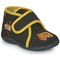 Schuhe Jungen Hausschuhe GBB OKANDI Schwarz