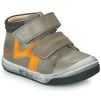 Chaussures Garçon Baskets montantes GBB OGROU Gris