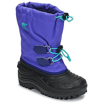 Scarpe Unisex bambino Stivali da neve Sorel YOUTH SUPER TROOPER Blu