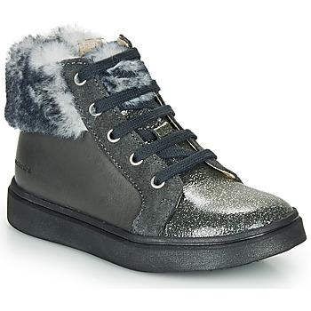 Chaussures Fille Baskets montantes Catimini MARCELLE Gris